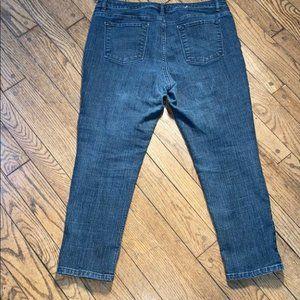 Liz Claiborne Size 14 Petite Jeans Ultimate Fit An